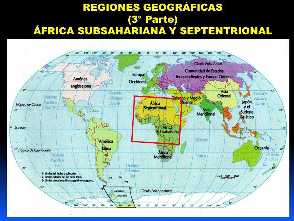 ÁFRICA SUBSAHARIANA Y SEPTENTRIONAL