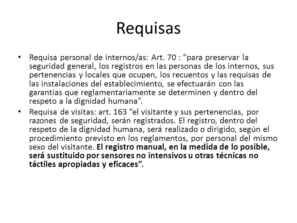 Requisas