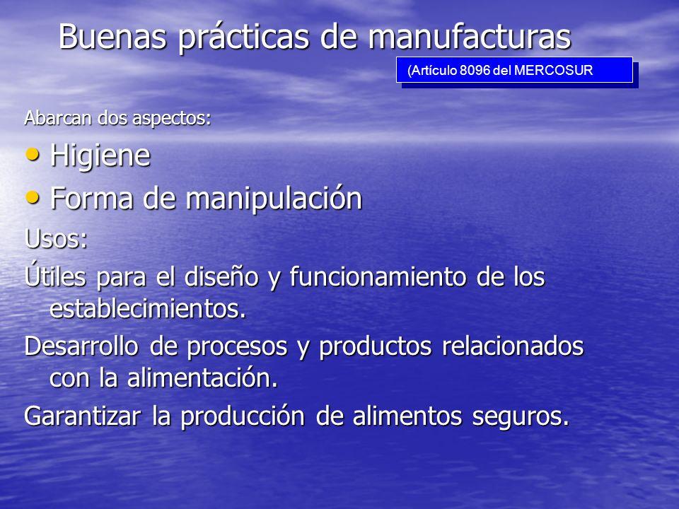 Buenas prácticas de manufacturas