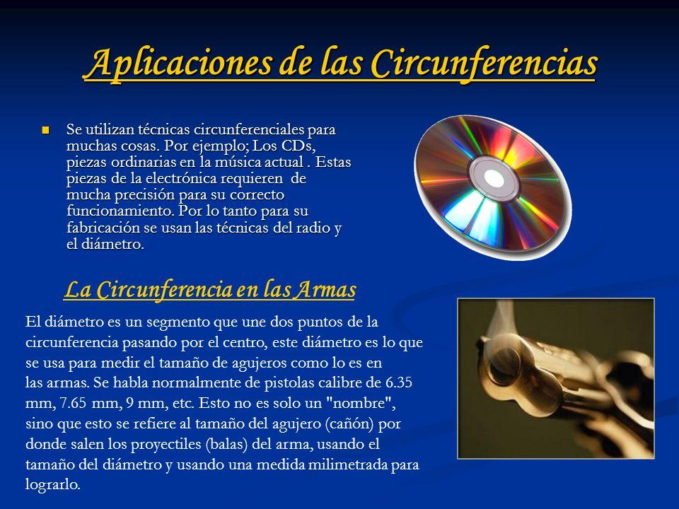 Aplicaciones de las Circunferencias