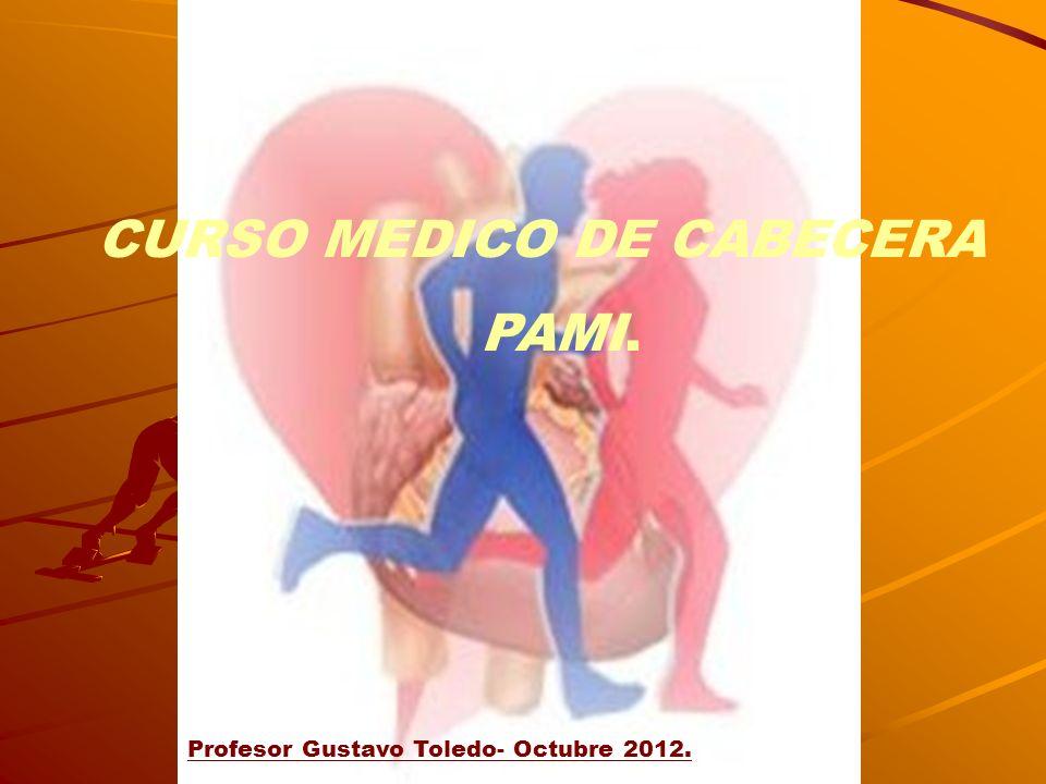 CURSO MEDICO DE CABECERA PAMI.