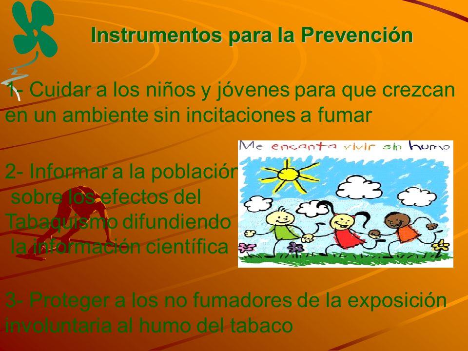 Instrumentos para la Prevención