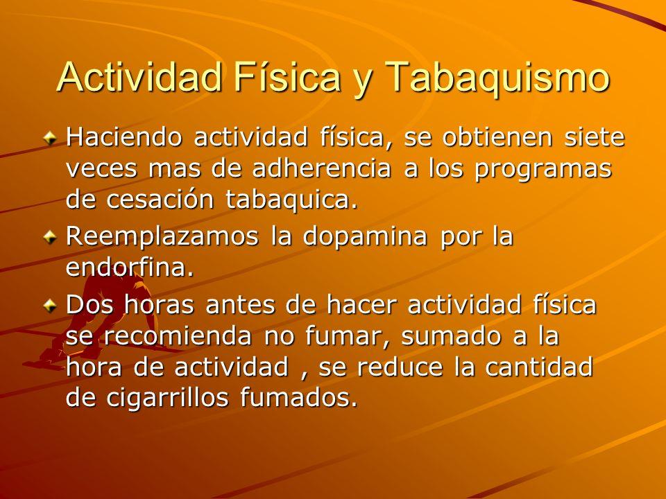 Actividad Física y Tabaquismo