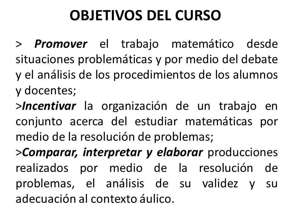 OBJETIVOS DEL CURSO