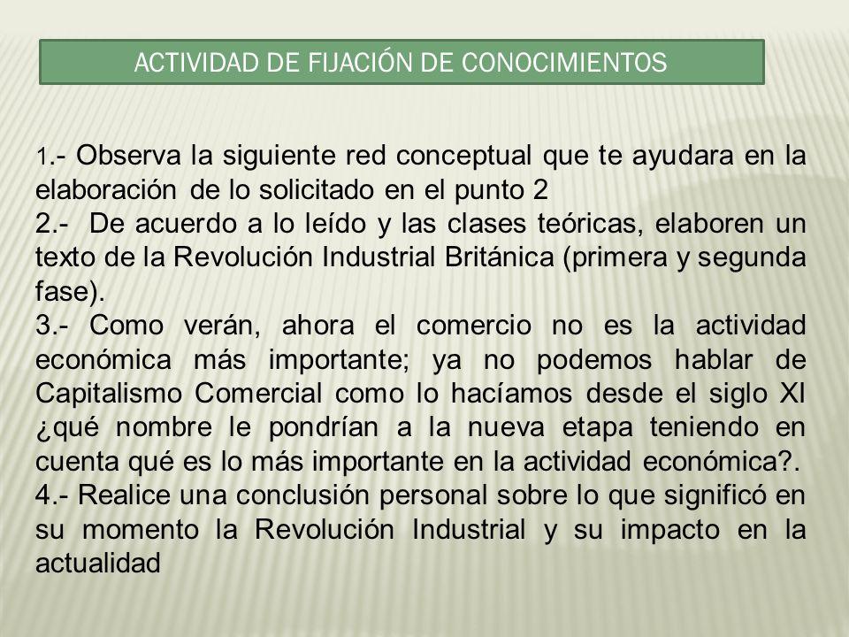 ACTIVIDAD DE FIJACIÓN DE CONOCIMIENTOS