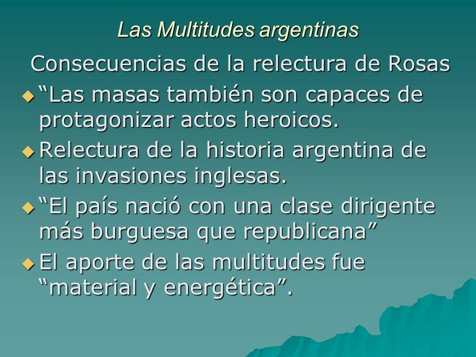 Las Multitudes argentinas