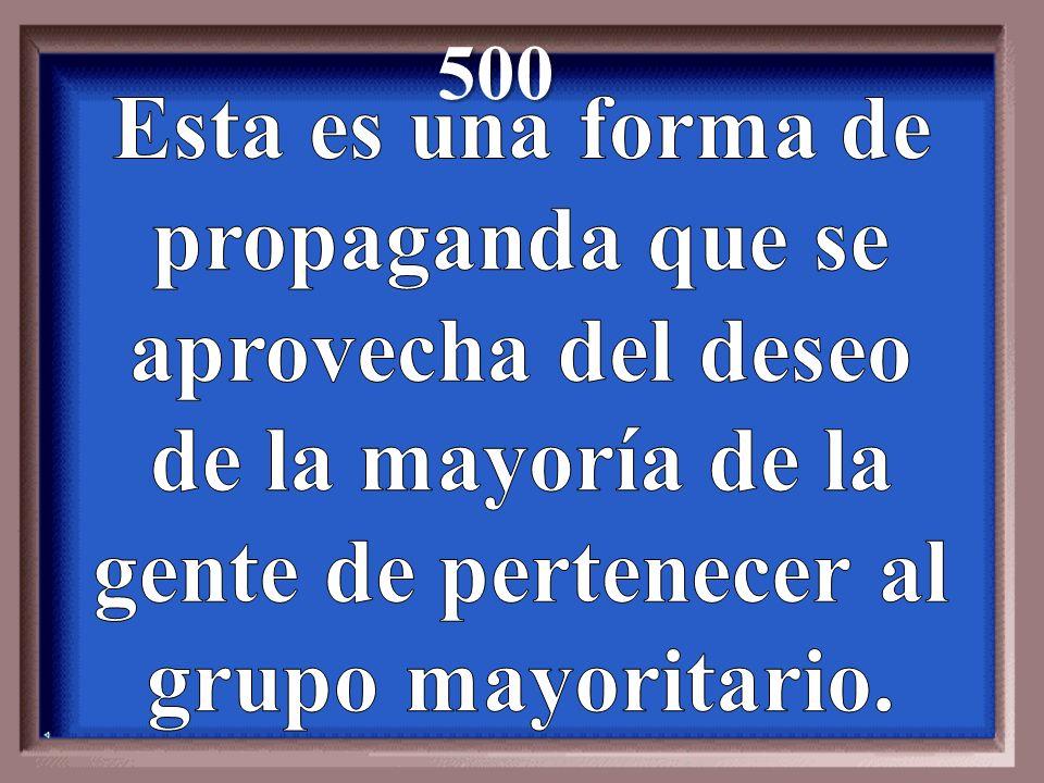 500 Esta es una forma de propaganda que se aprovecha del deseo
