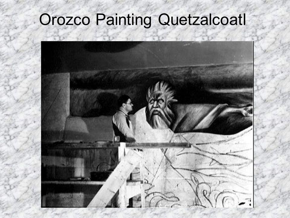 Orozco Painting Quetzalcoatl