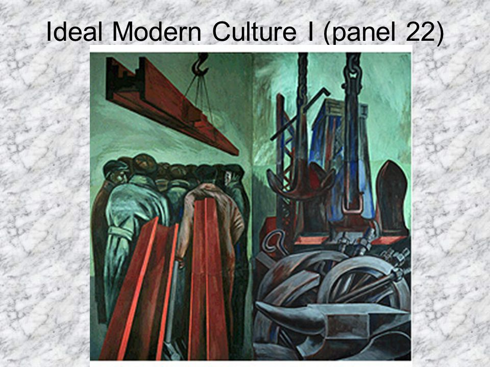 Ideal Modern Culture I (panel 22)