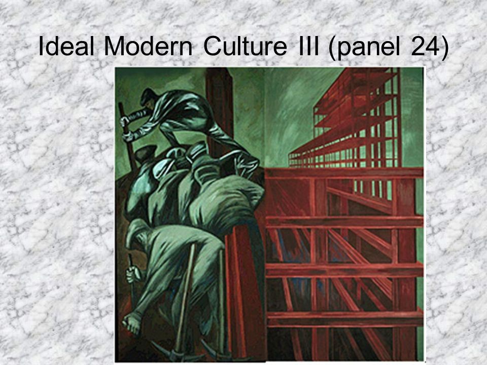 Ideal Modern Culture III (panel 24)