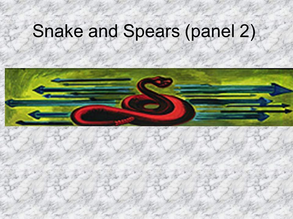 Snake and Spears (panel 2)