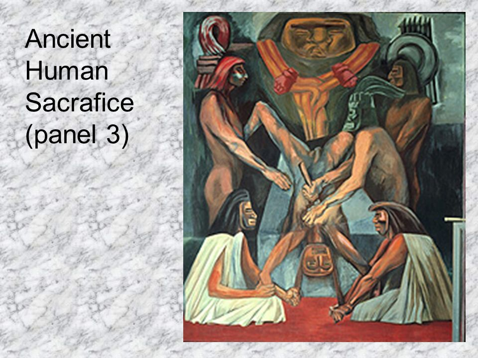 Ancient Human Sacrafice (panel 3)