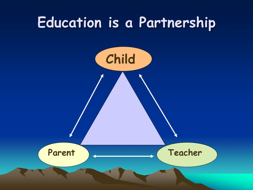 Education is a Partnership