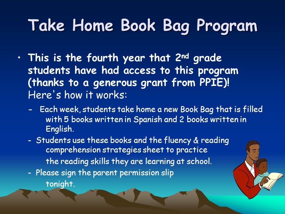 Take Home Book Bag Program