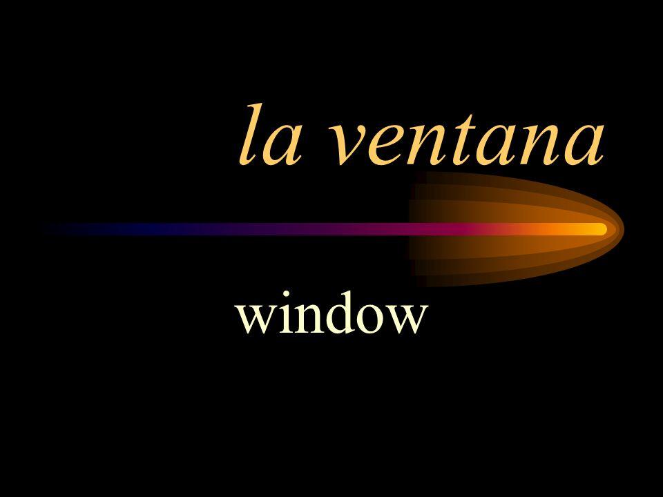 la ventana window