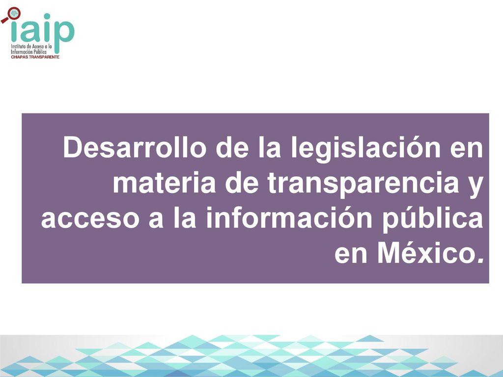 Instituto de acceso a la informaci n p blica del estado de for Oficina de transparencia y acceso ala informacion