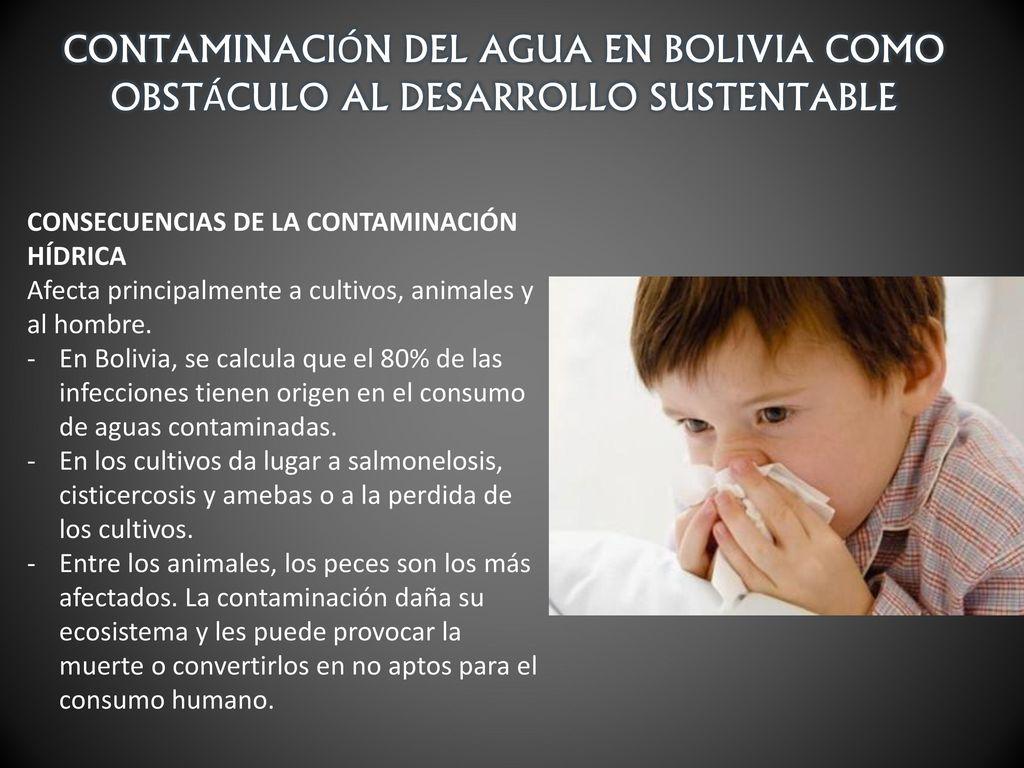 Contaminaci n del agua en bolivia como obst culo al for Cria de peces para consumo humano