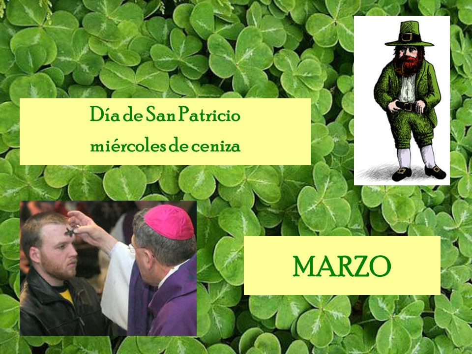 Día de San Patricio miércoles de ceniza