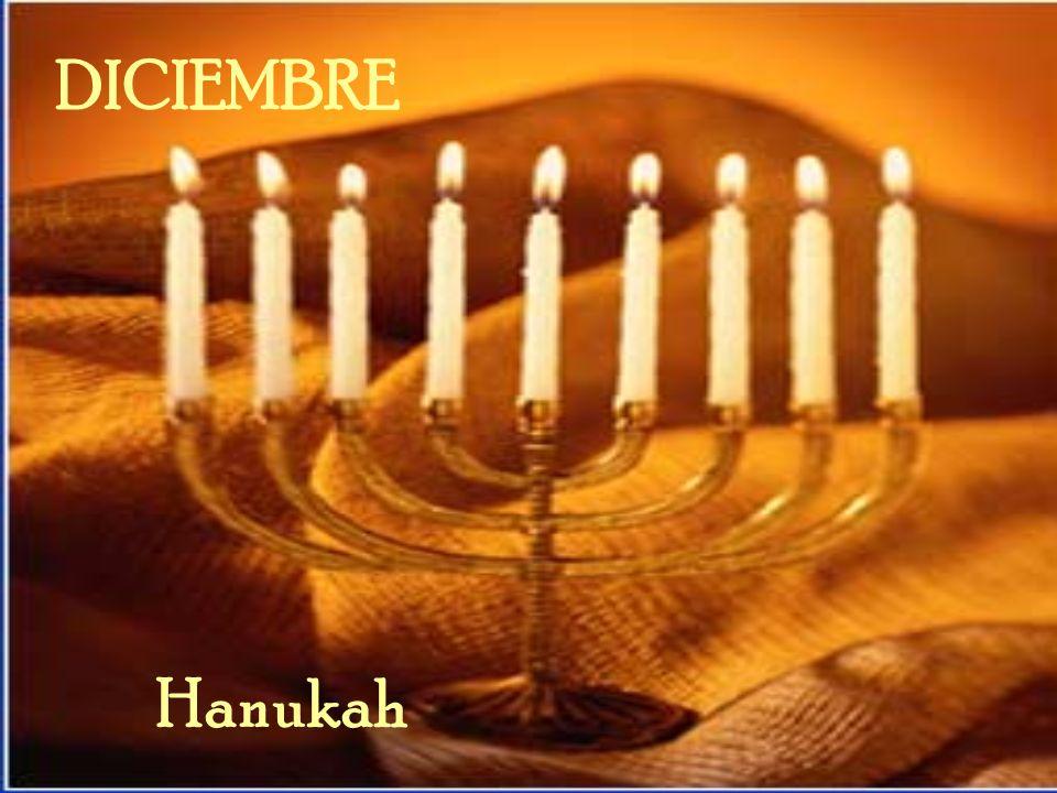 DICIEMBRE Hanukah