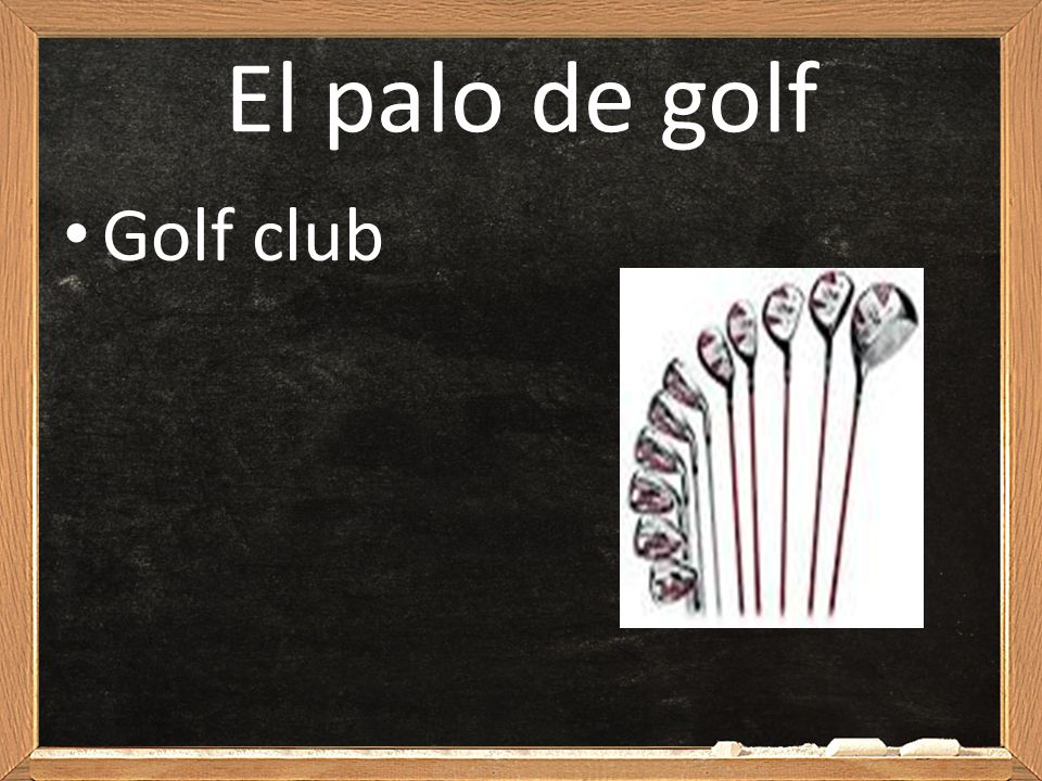 El palo de golf Golf club