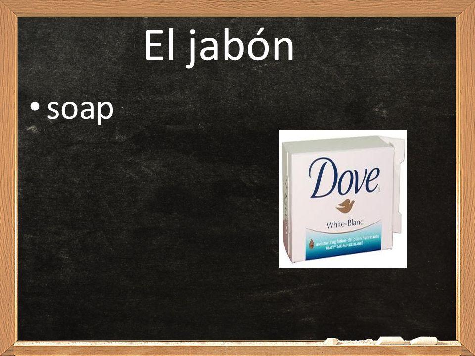 El jabón soap