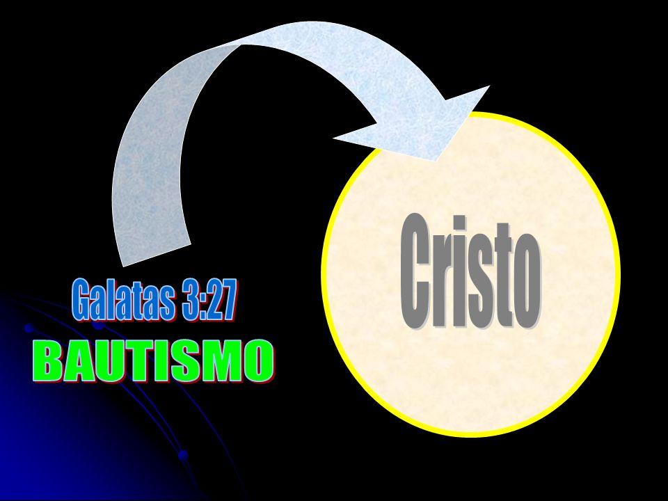 Cristo Galatas 3:27 BAUTISMO