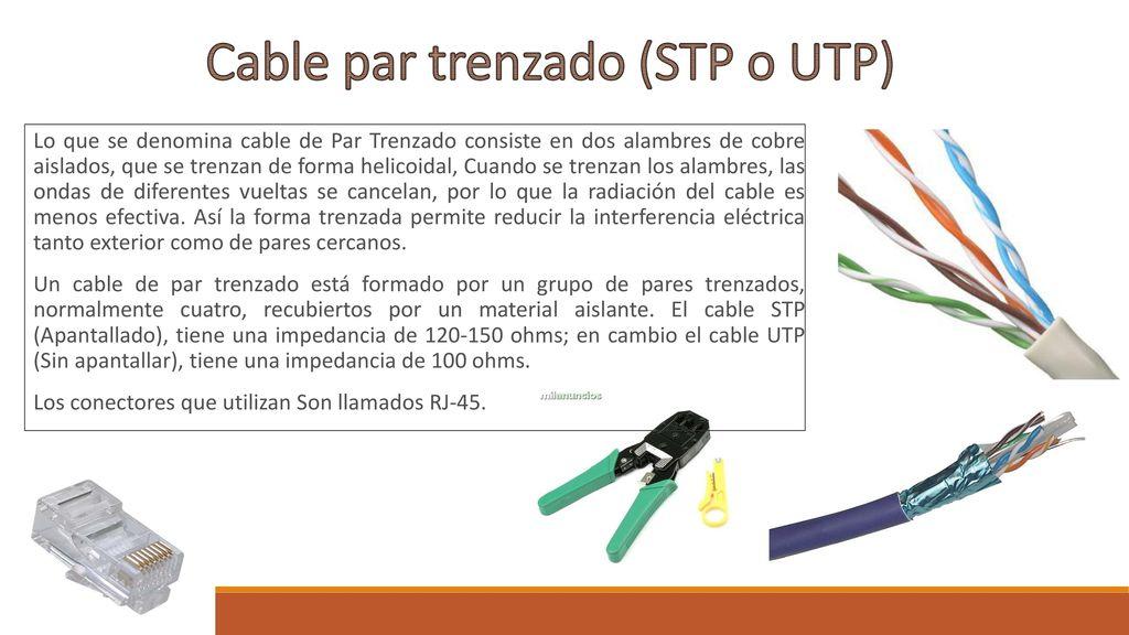 Tipos De Cables Para Red Ppt Descargar