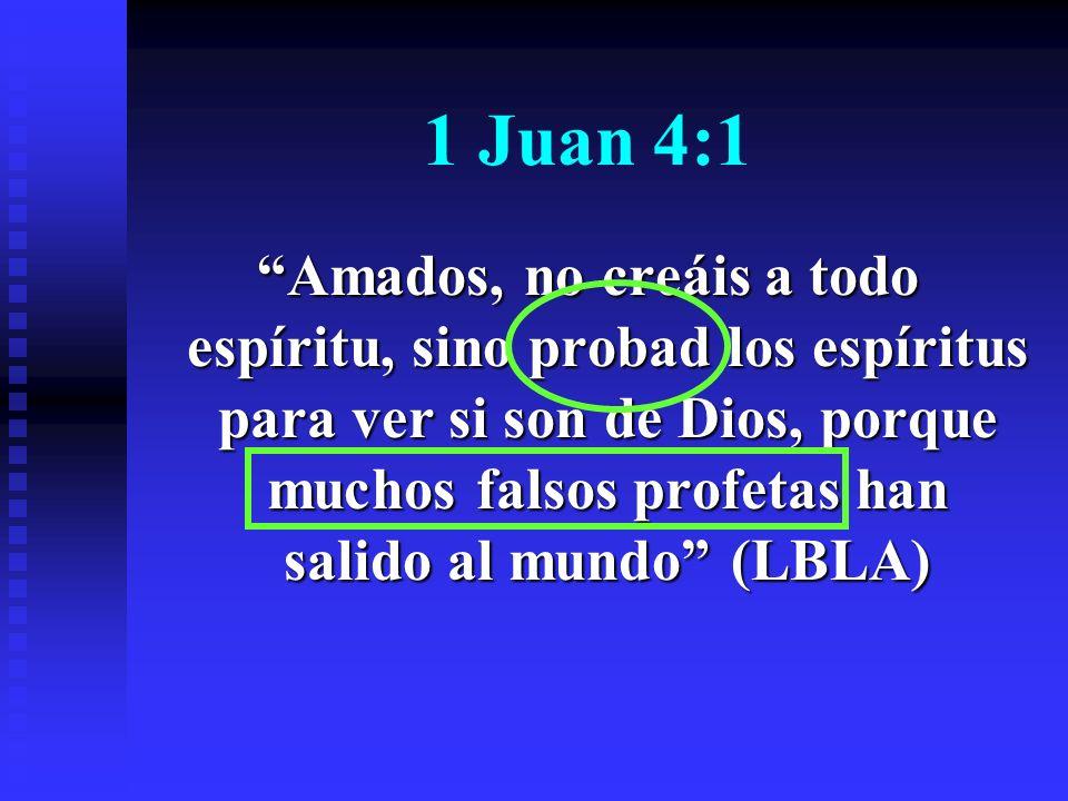 1 Juan 4:1