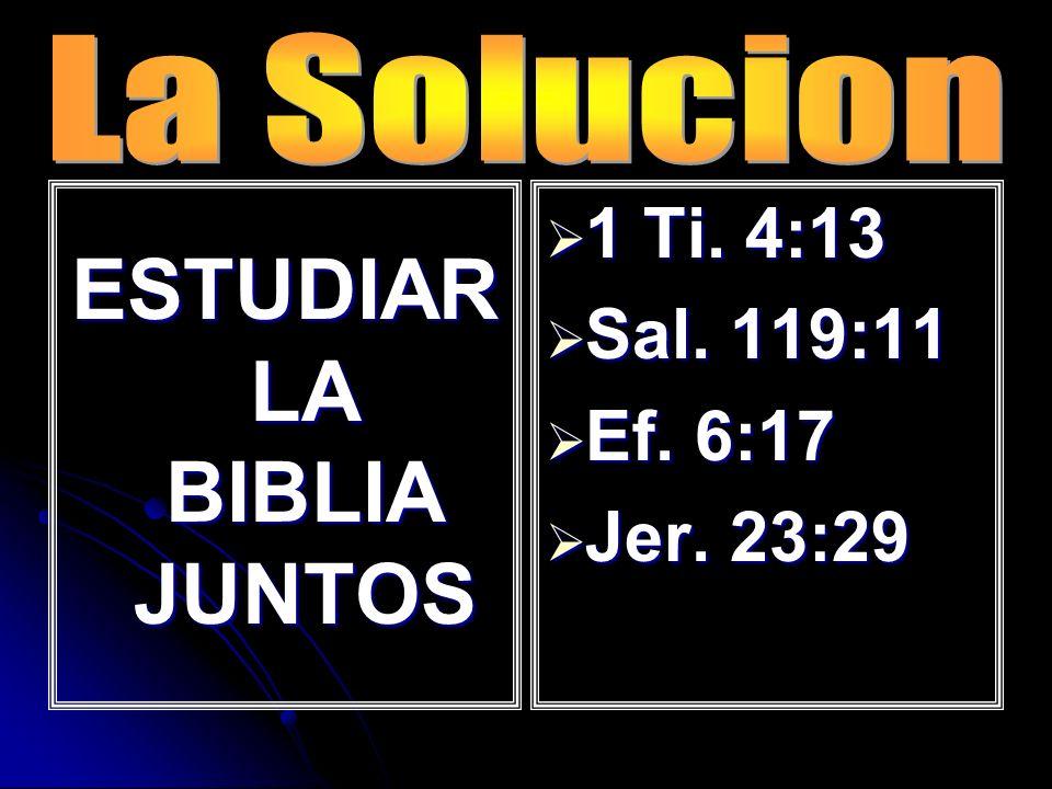 ESTUDIAR LA BIBLIA JUNTOS