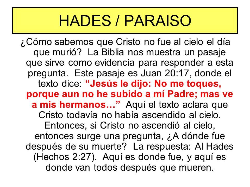 HADES / PARAISO