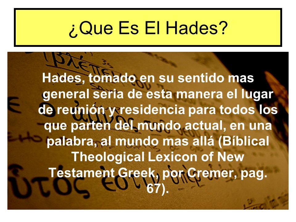 ¿Que Es El Hades