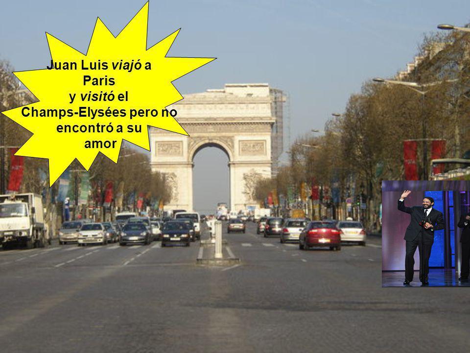 Champs-Elysées pero no