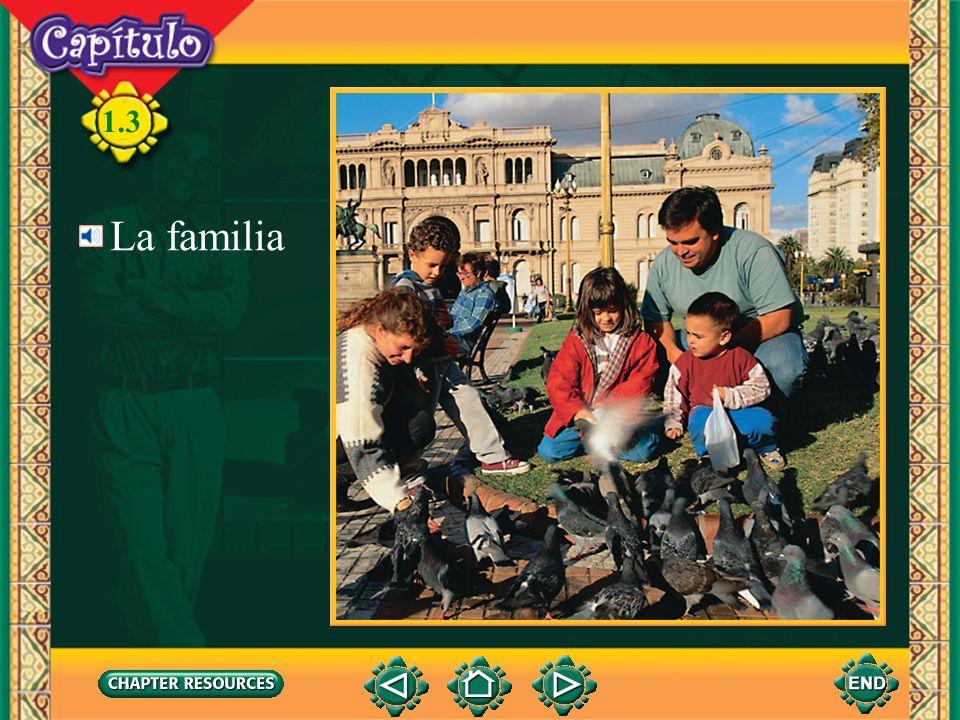 1.3 La familia