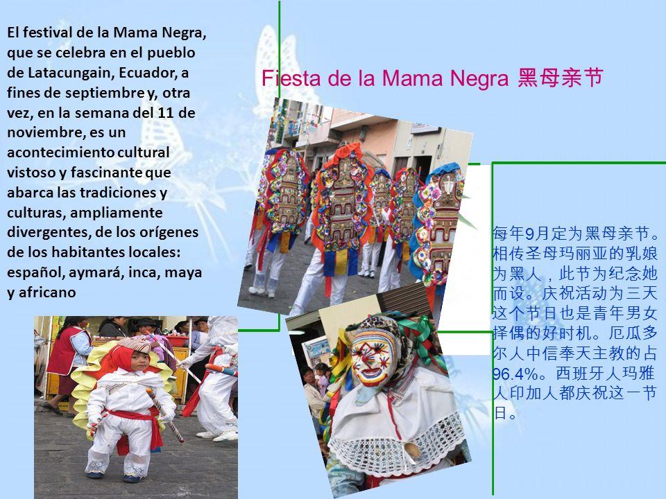 Fiesta de la Mama Negra 黑母亲节