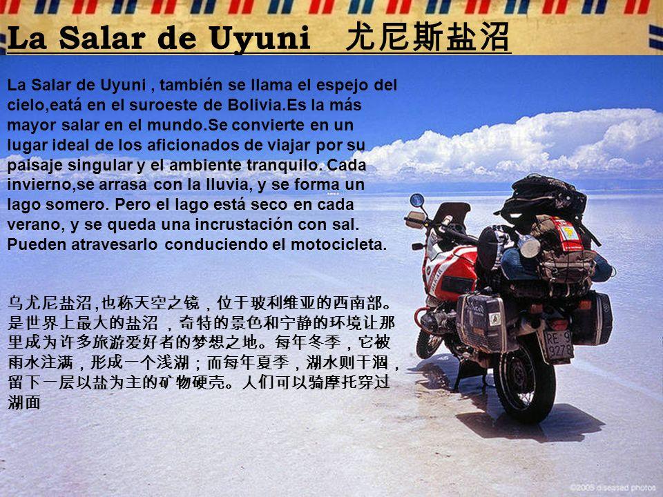 La Salar de Uyuni 尤尼斯盐沼