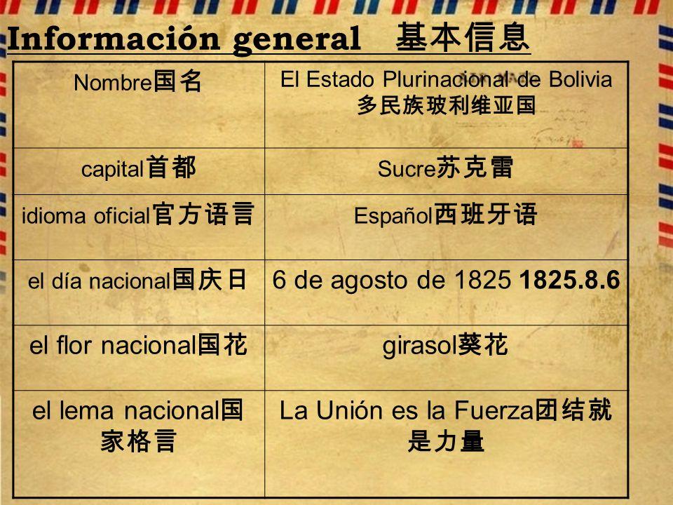 Información general 基本信息