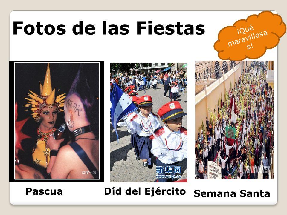 Fotos de las Fiestas Pascua Díd del Ejército Semana Santa