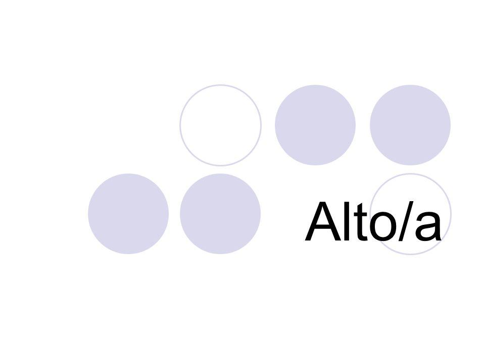 Alto/a