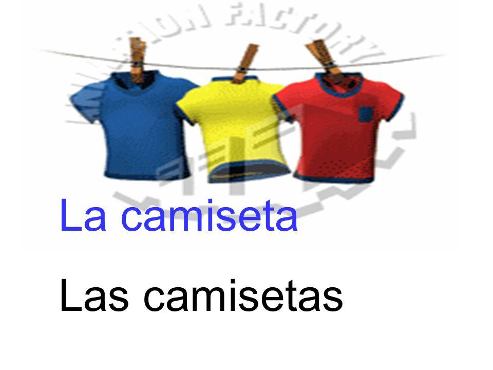 La camiseta Las camisetas