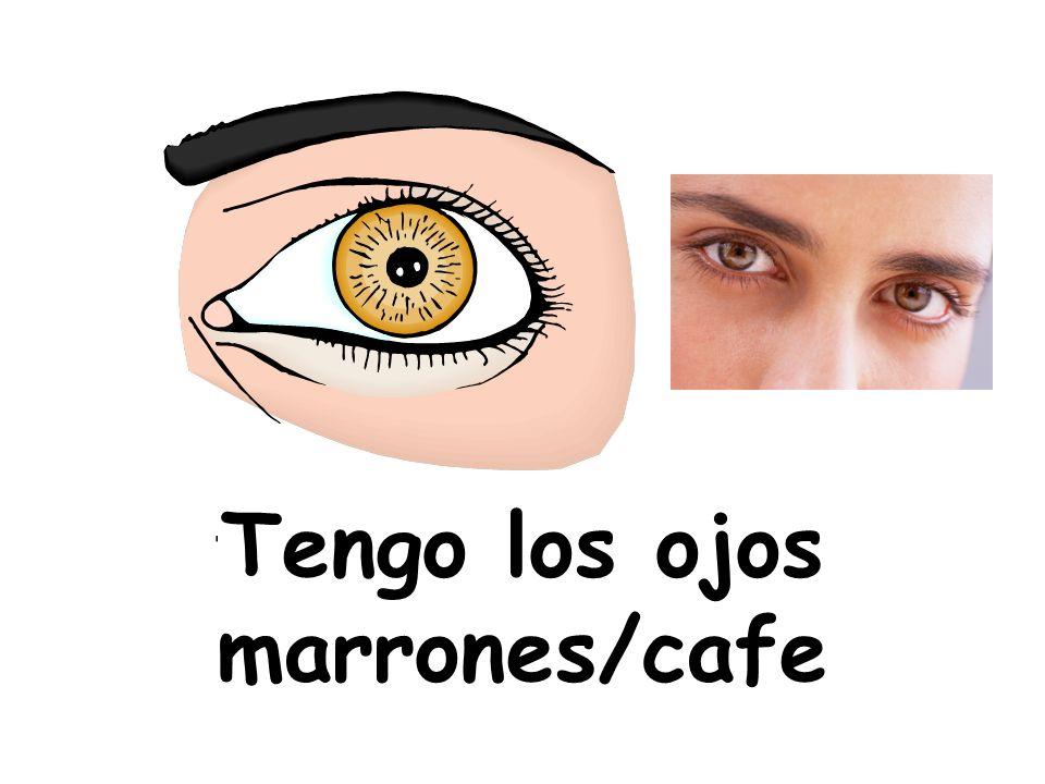 Tengo los ojos marrones/cafe