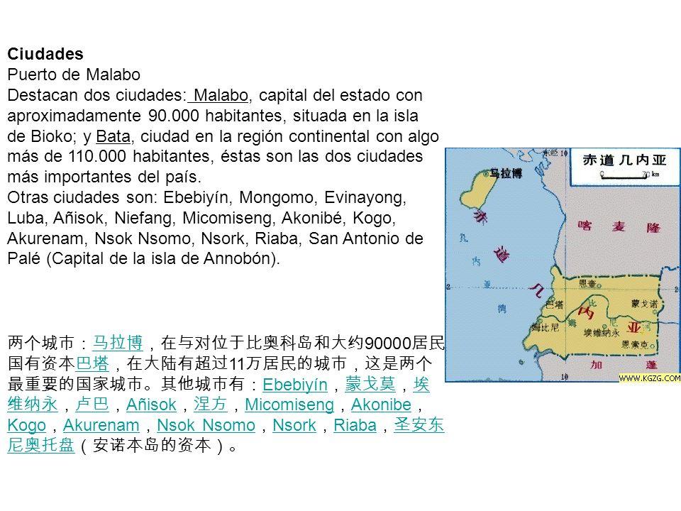 Ciudades Puerto de Malabo