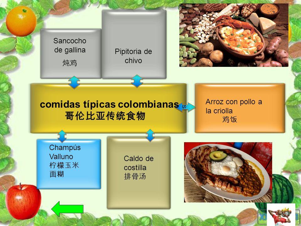 comidas típicas colombianas 哥伦比亚传统食物
