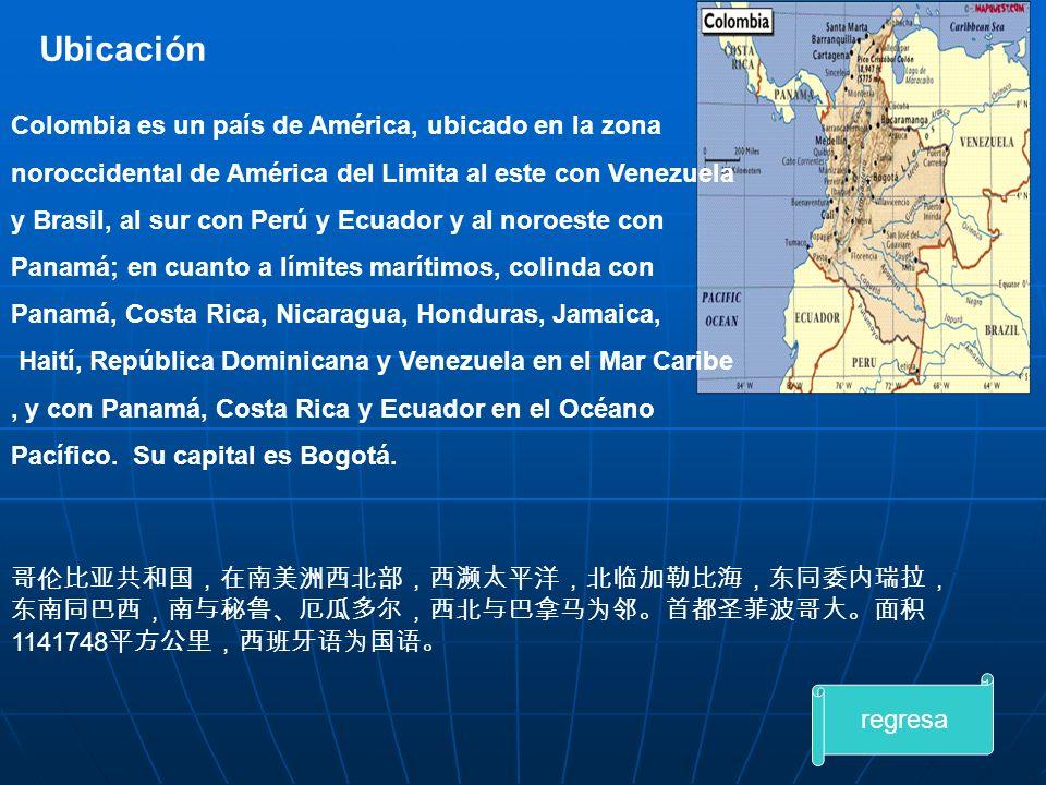 Ubicación Colombia es un país de América, ubicado en la zona