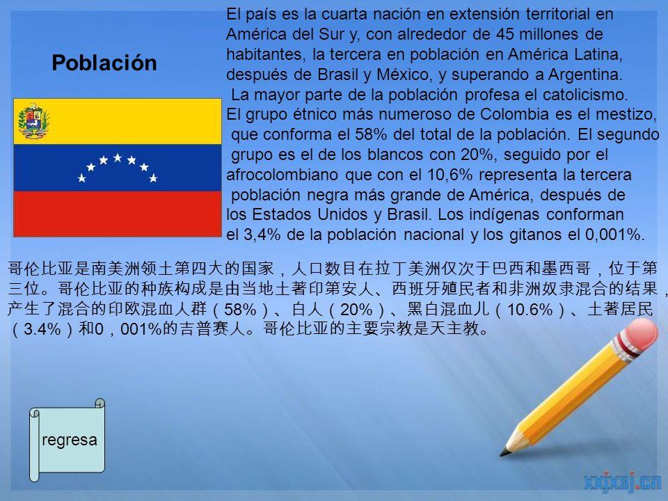 Población El país es la cuarta nación en extensión territorial en