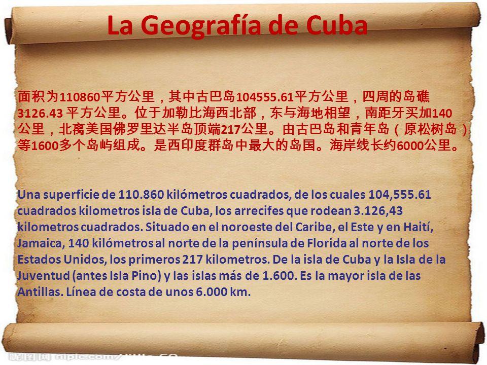 La Geografía de Cuba