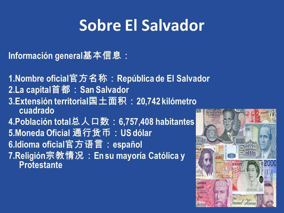 Sobre El Salvador Información general基本信息: