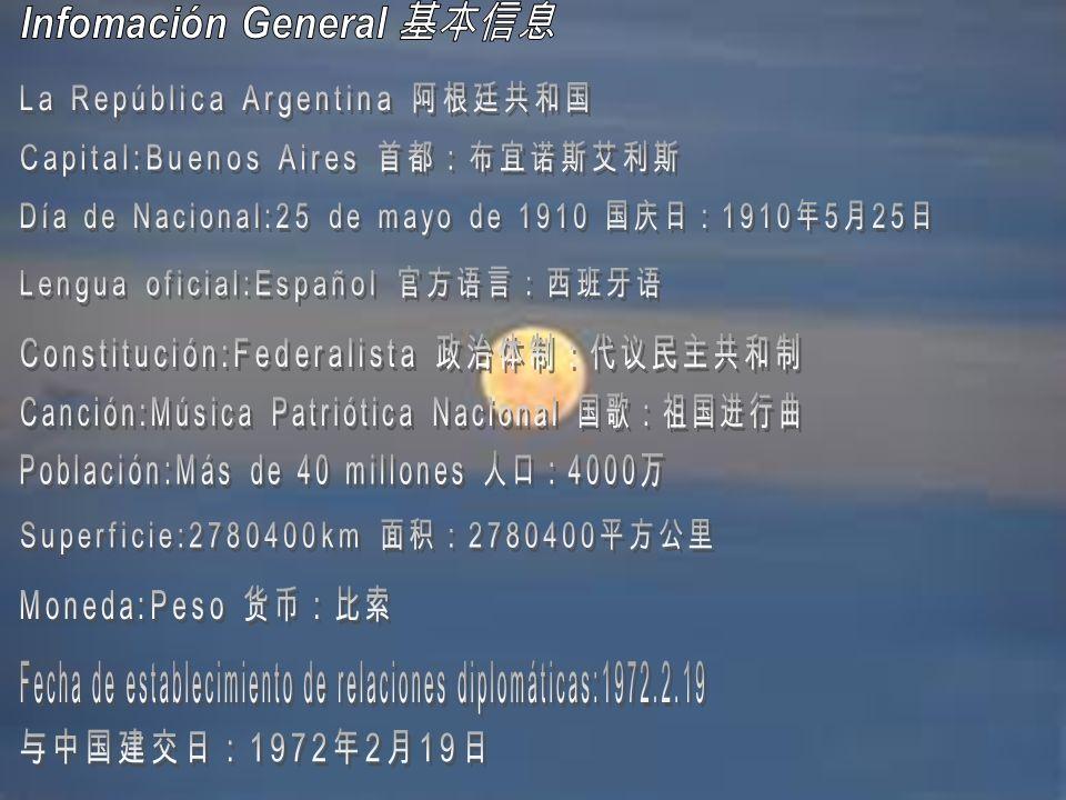 Infomación General 基本信息
