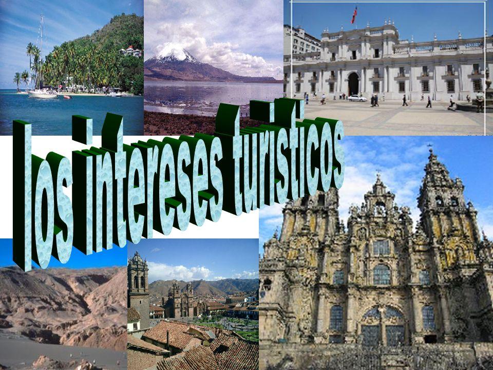 los intereses turisticos