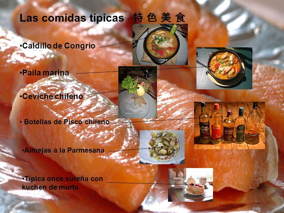 Las comidas típicas 特 色 美 食