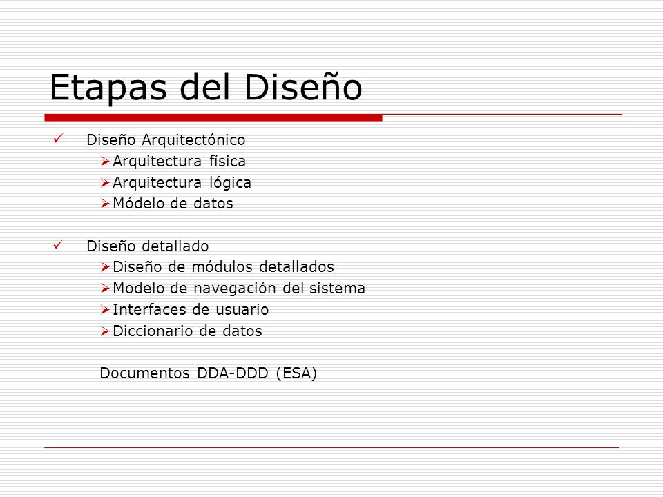 Ingenier a de software introducci n arquitectura de for Software de diseno arquitectonico